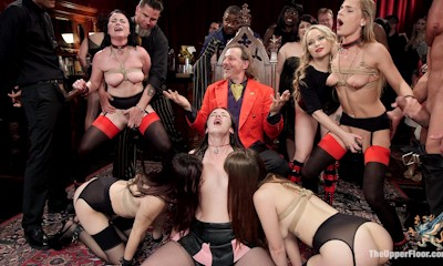 The Steward's Birthday Slave Orgy